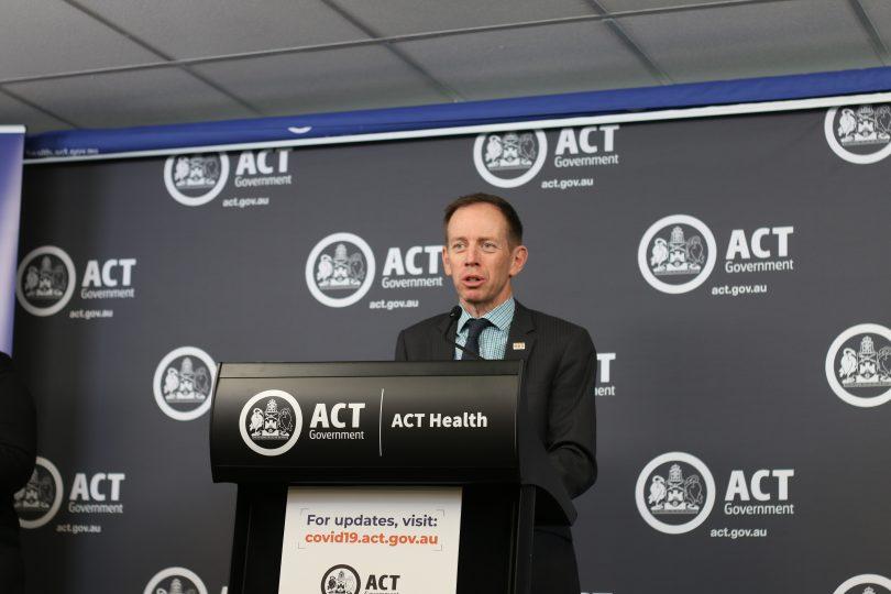 Minister for Mental Health Shane Rattenbury