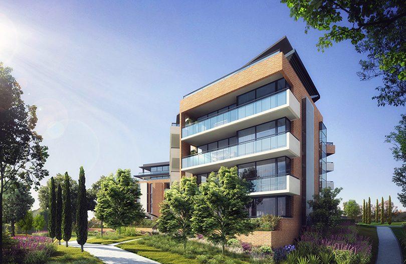 Artist's impression of Morris Property Group's Renaissance residential complex.