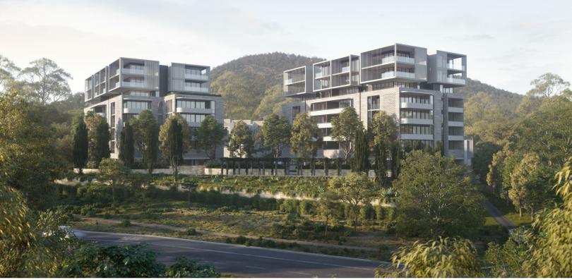 The proposed Doma development