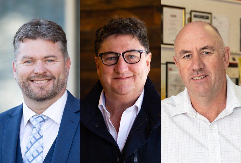 Dean Hill, Tim Gavel, Paul Nicholl