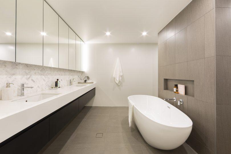 Opulent bathrooms at Estate.