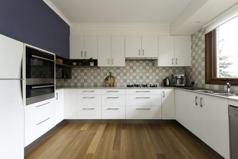 The updated kitchen