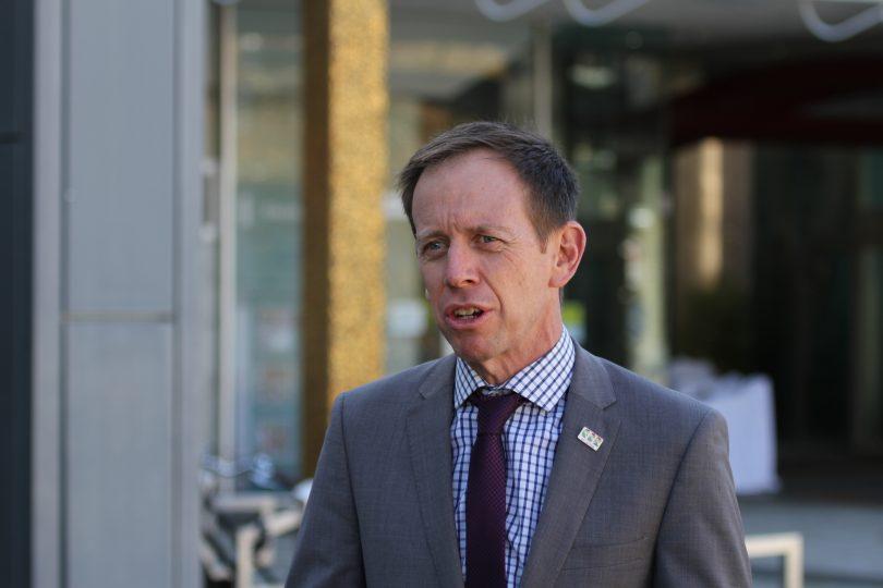 ACT Mental Health Minister Shane Rattenbury
