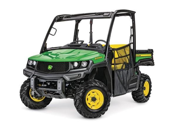 A John Deere all-terrain vehicle