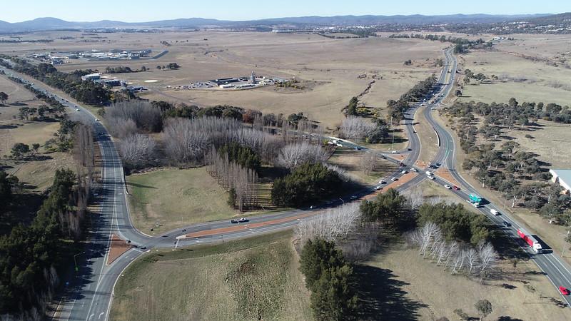 Monaro Highway with Lanyon Drive