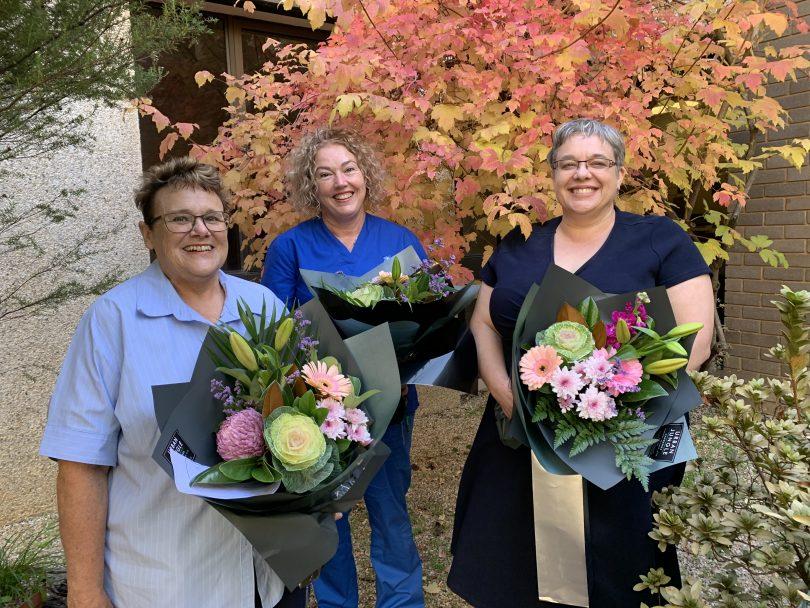 Award-winning nurses