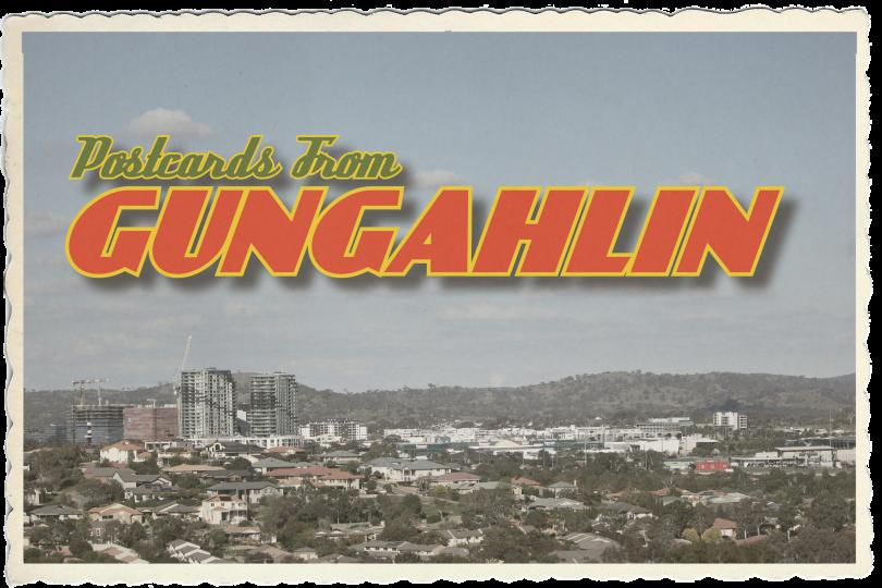 Gungahlin postcard