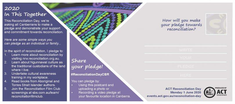 The Reconciliation Day pledge