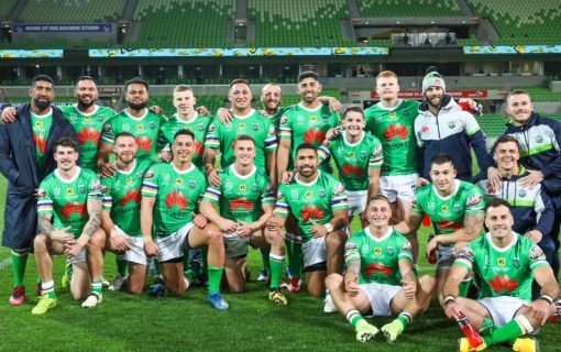 Raiders cap Papalii's 200th with another win against the Storm in Melbourne
