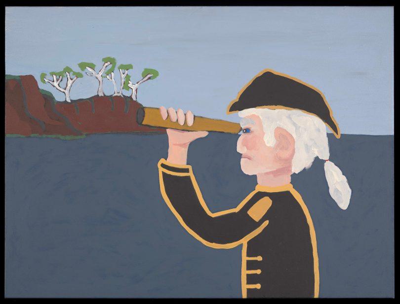 Captain Cook by Vincent Namatjira