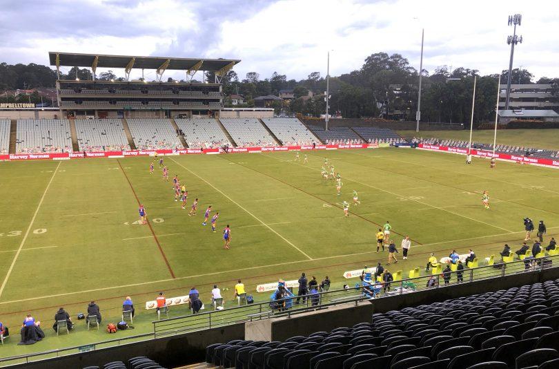 Raiders at Campbelltown
