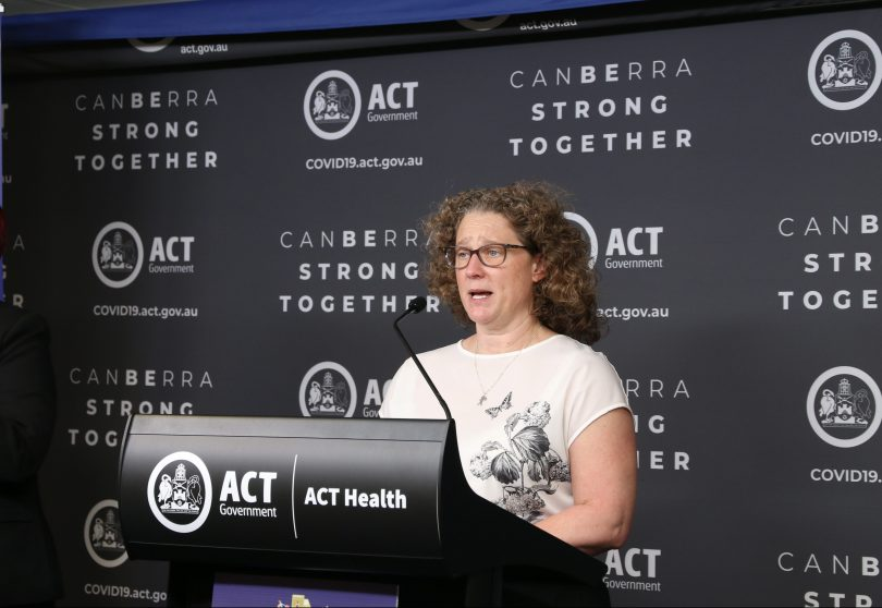 Chief Health Officer Dr Kerryn Coleman