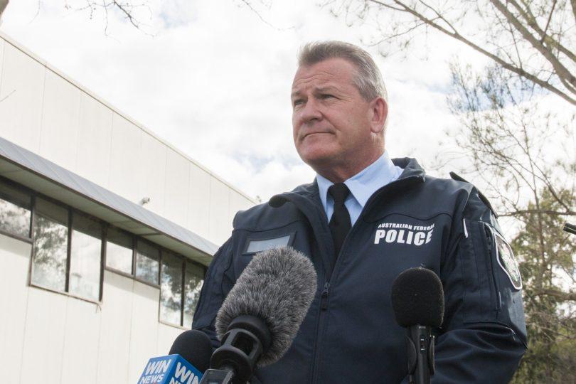 Detective Inspector Marcus Boorman