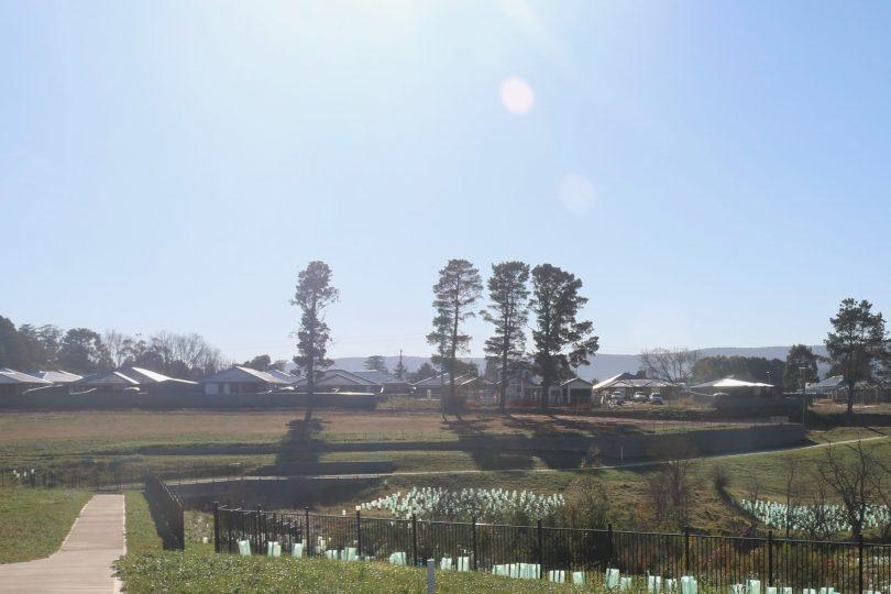 Panoramic view of Joseph's Gate