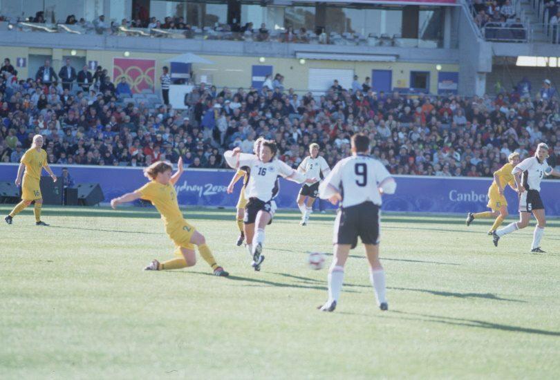 Women's Football, Australia v Germany, Sydney 2000 Olympic Games, 13 September, 2000