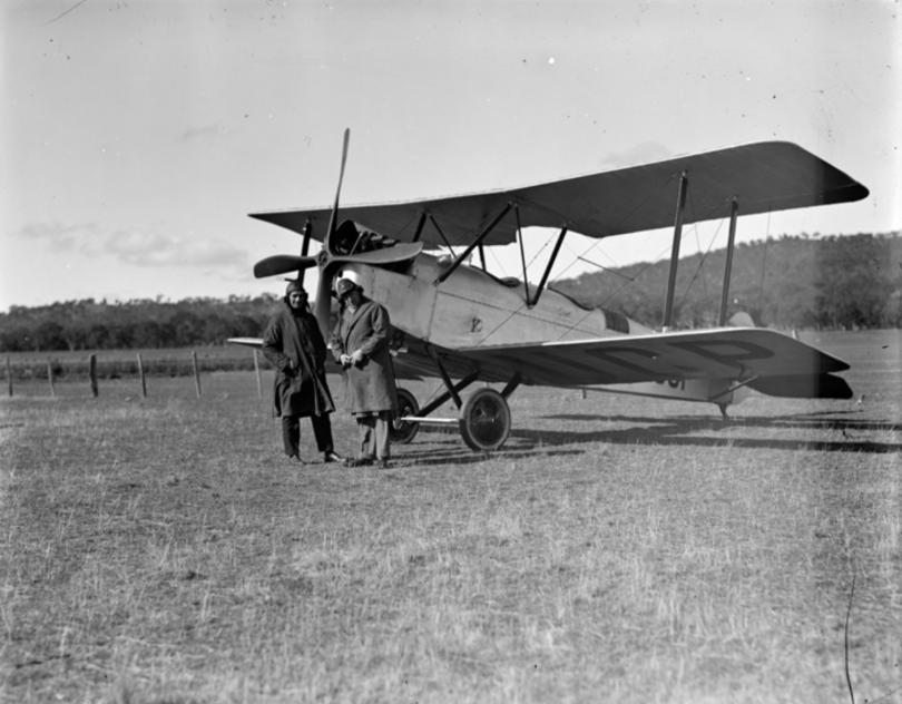 Aerodrome at Dickson