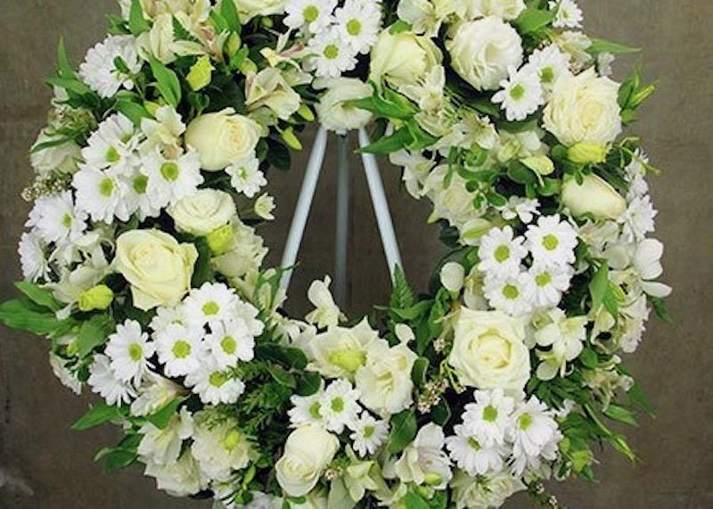 A wreath.