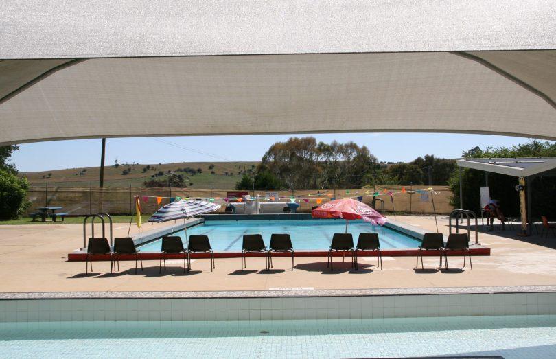 Braidwood Memorial Pool.