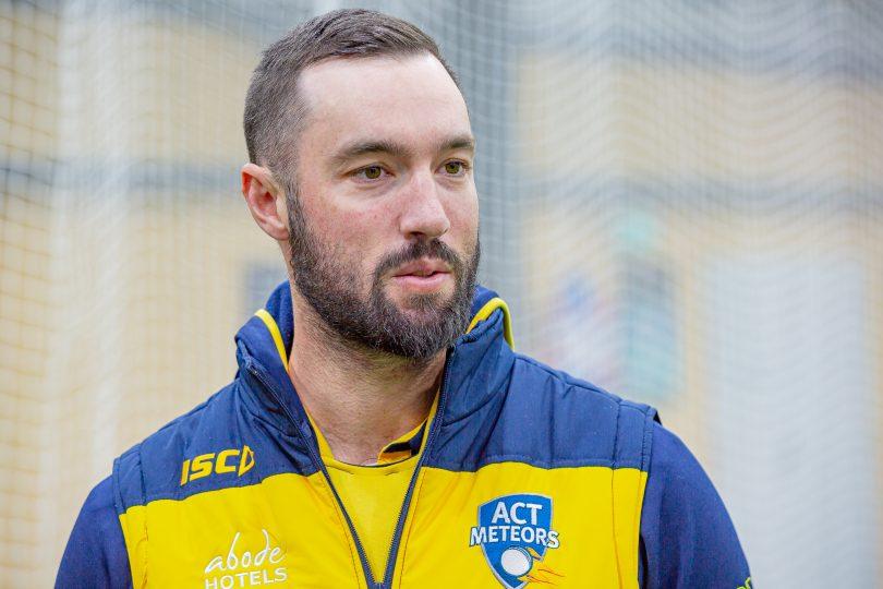 ACT Meteors coach Jono Dean