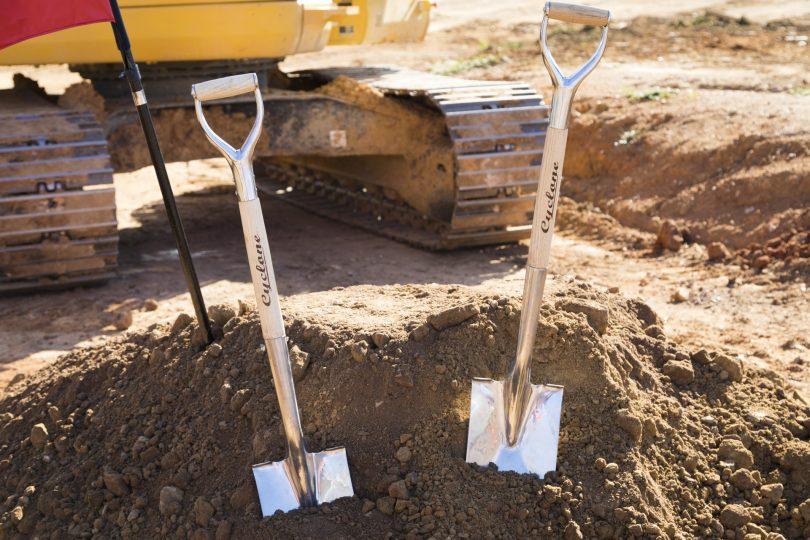 Construction commences at the former Stuart Flats site