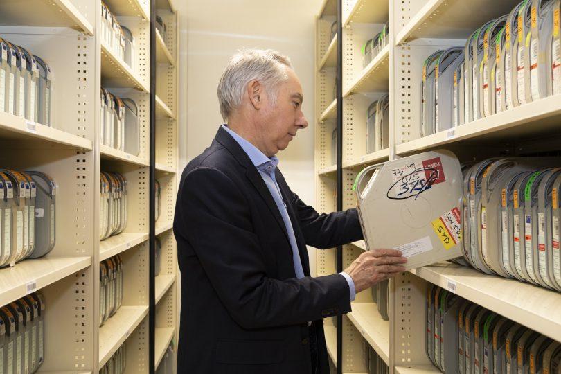 Steven Fox at National Archives of Australia.