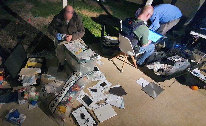 AFP investigators