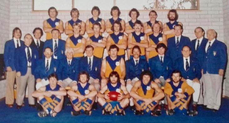ACT Aussie Rules team photo.