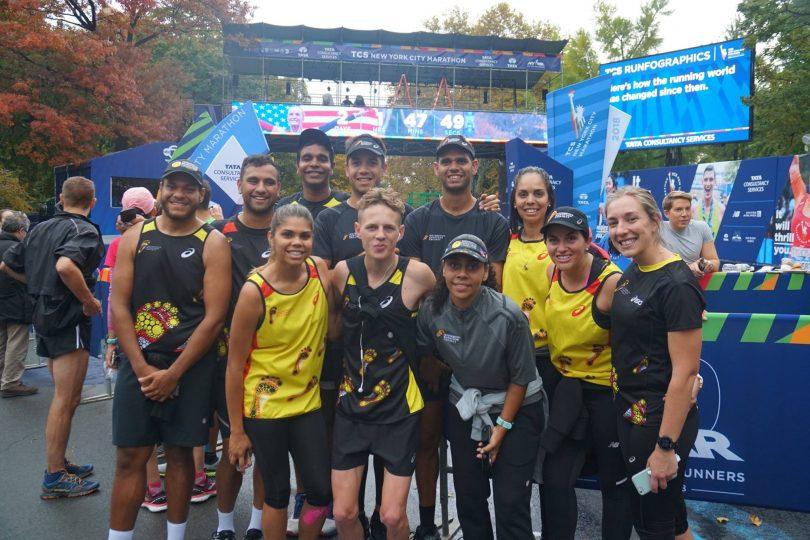 Indigenous marathon runners
