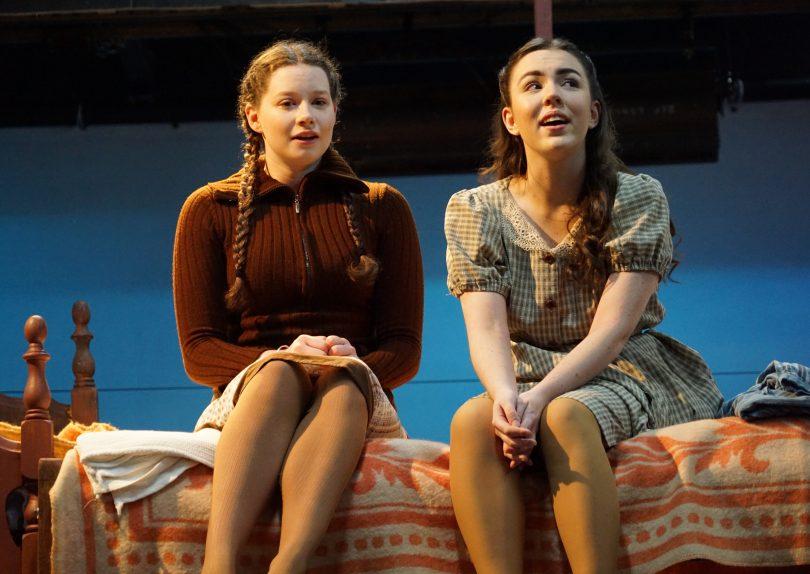 Ella Buckley and Caitlin Baker