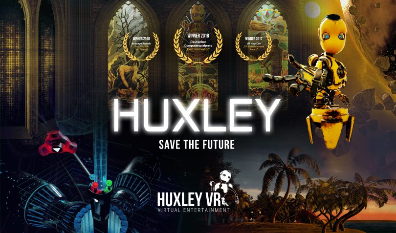 Image of virtual reality game Huxley: Save the Future.