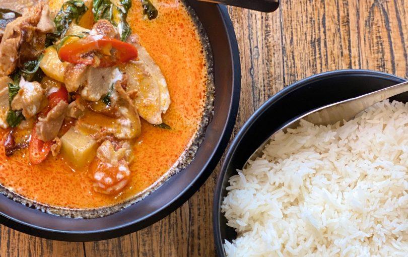 Duck Curry from Kinn Thai