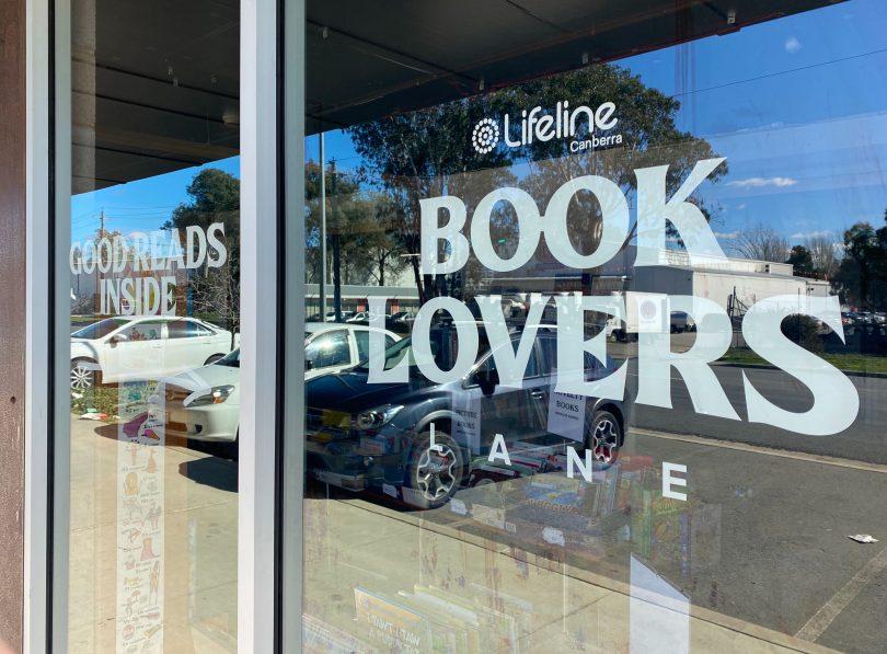 Lifeline Booklovers Lane at Fyshwick Markets