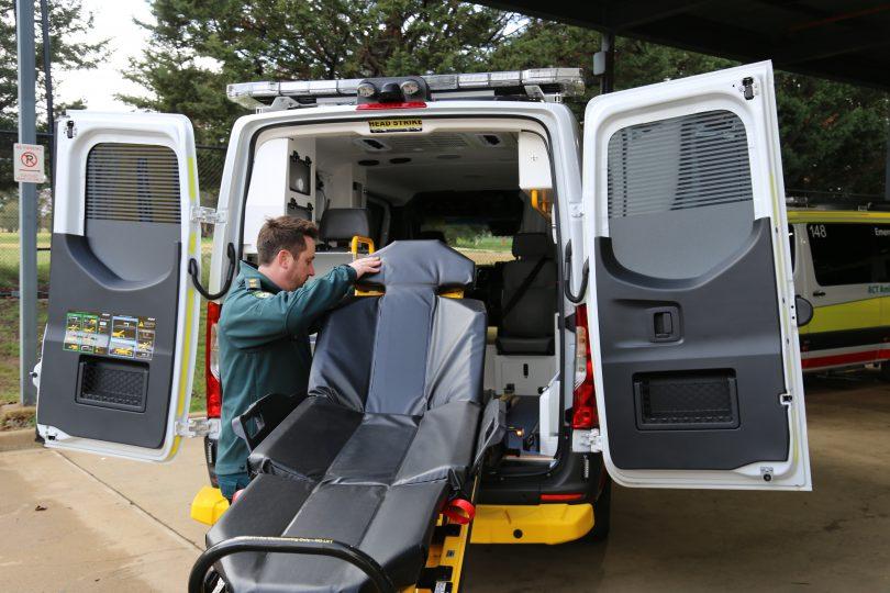 ACT ambulances