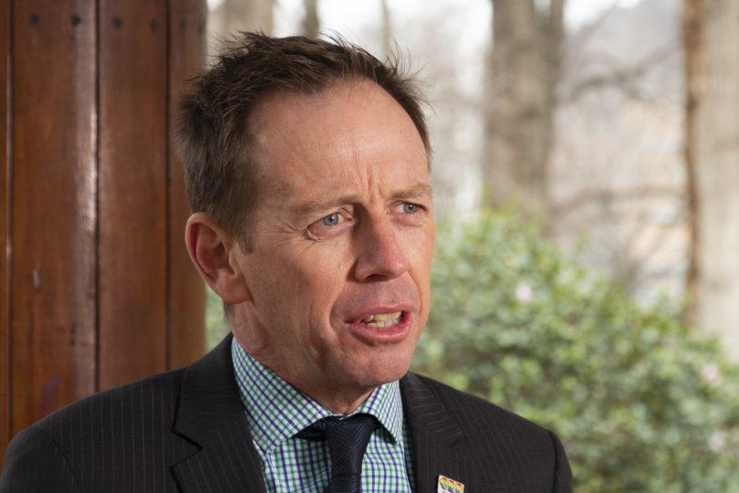 Greens leader Shane Rattenbury
