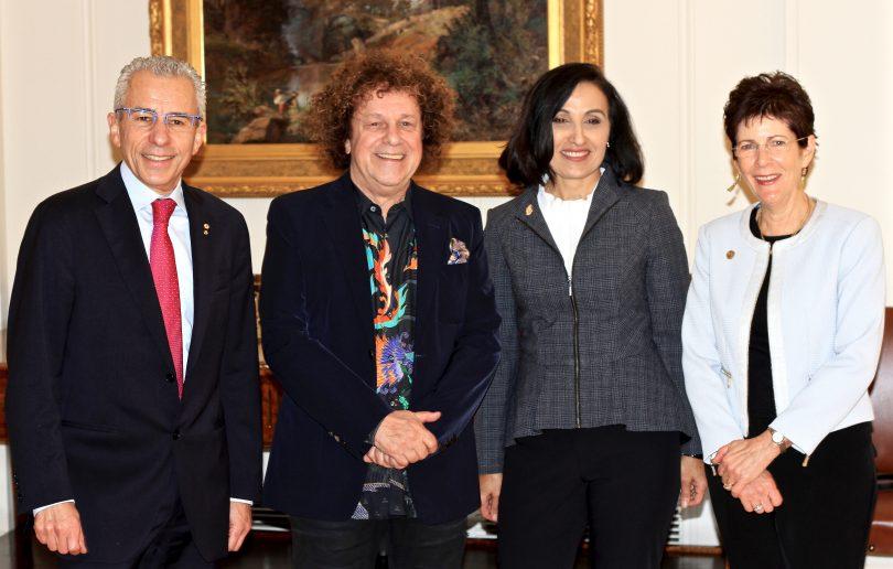 Garry Browne, Leo Syaer, Fatima Ali and Linda Hurley