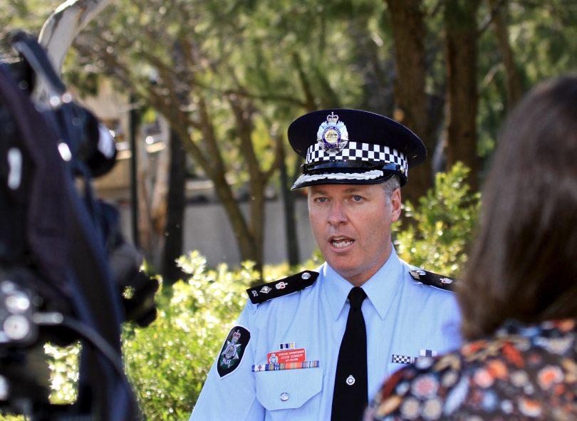 Detective Superintendent Jason Kennedy