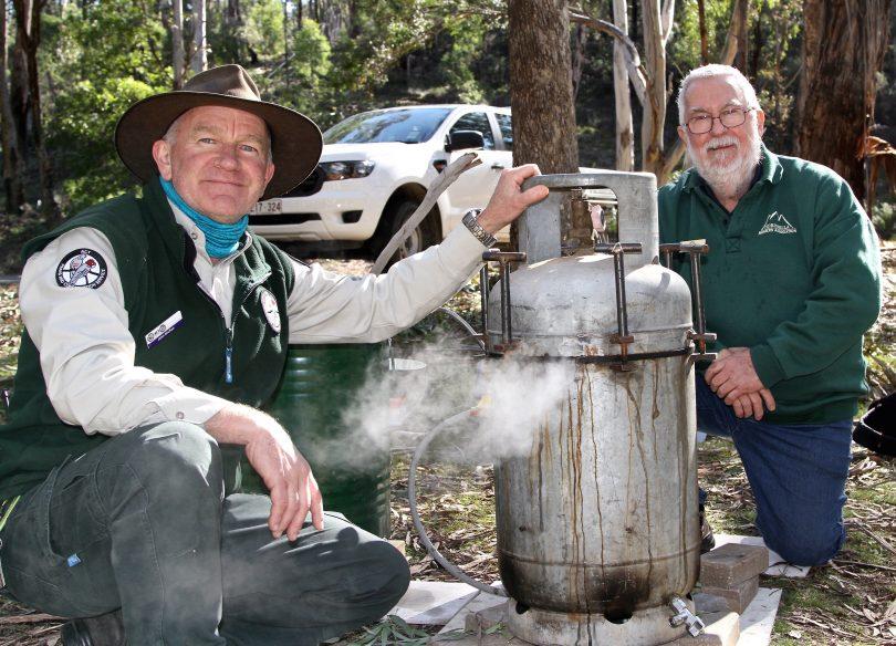 John McRae and Geoff Puleston