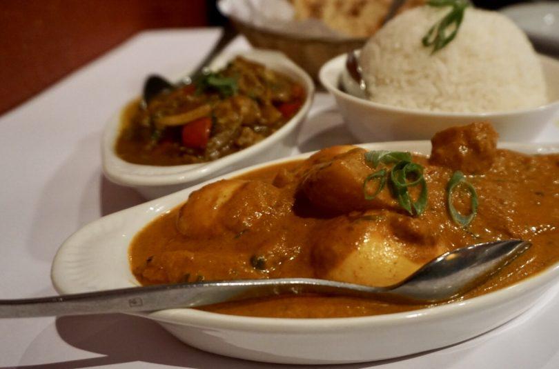 Potato and Egg Curry