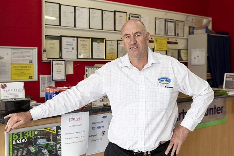 Bayldon Ag Managing Director Paul Nicholl.