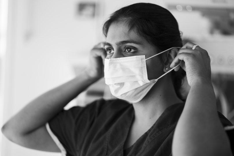 Canberra Hospital nurse Anju Mamachan