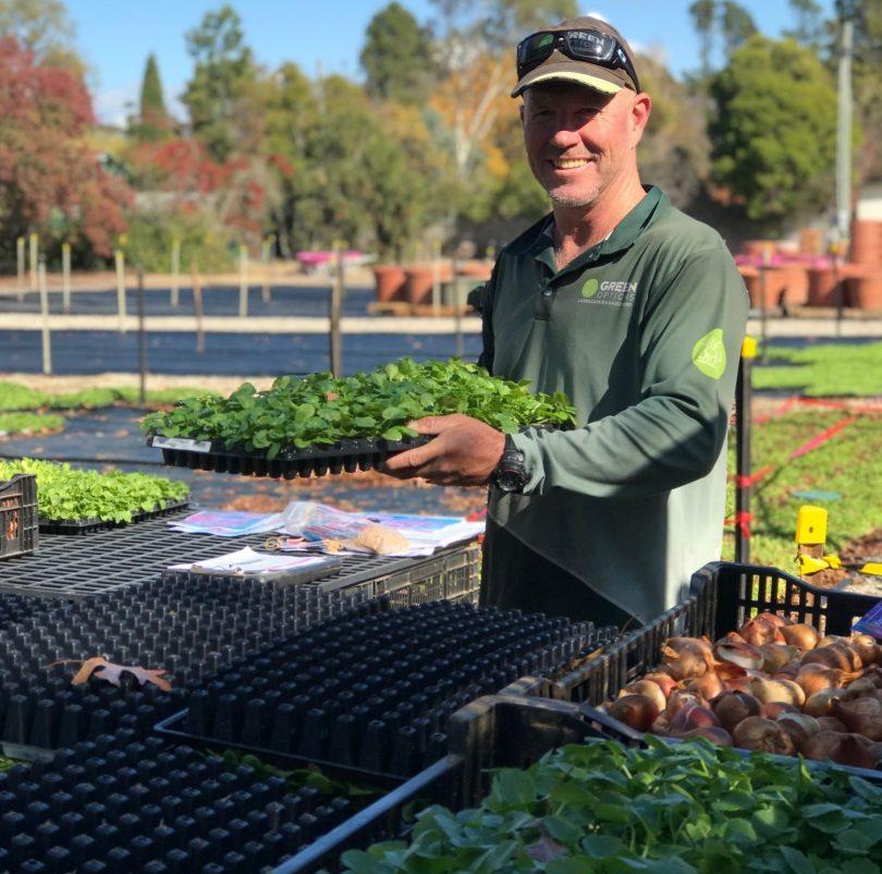 University of Canberra gardener