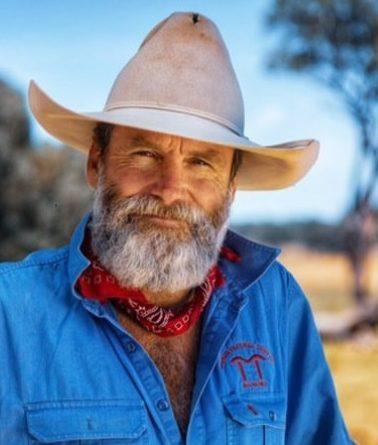 Boorowa regenerative farmer Charlie Arnott on farm.