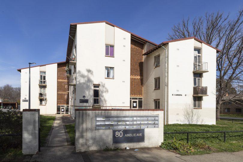 Kanandra Court on Ainslie Avenue