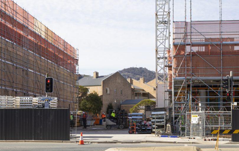 Public housing framed by Geocon construction