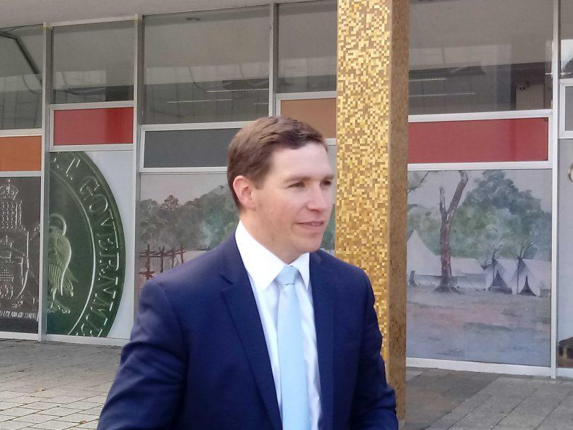 Opposition Leader Alistair Coe