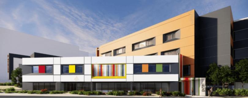 Artist's impression of Adolescent Mental Health Unit at Centenary Hospital.