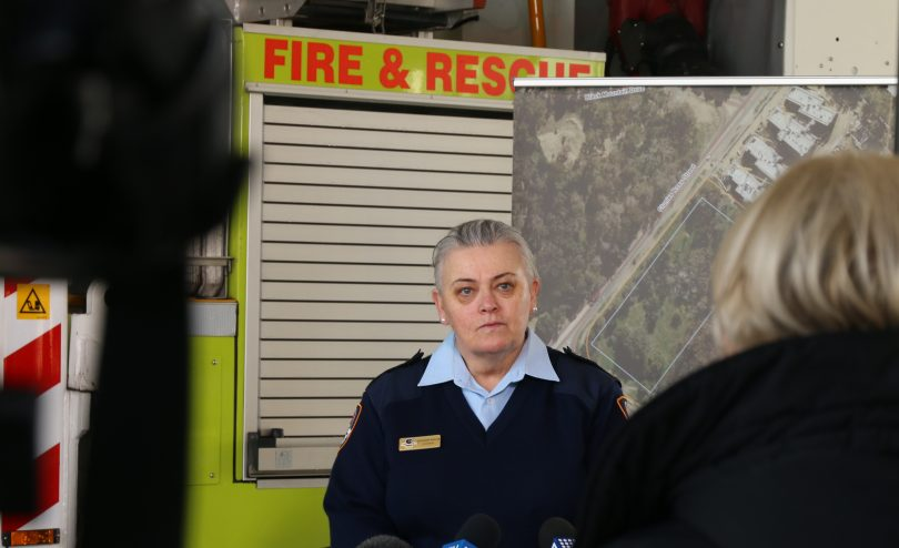 ACT Emergency Services Agency Commissioner Georgeina Whelan.