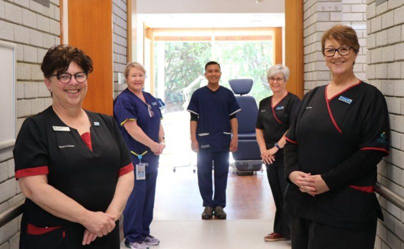 Walk-in Centre Dickson nurses