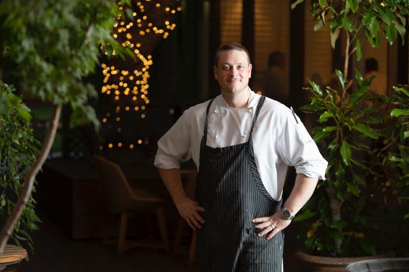 Sage head chef Thomas Heinrich