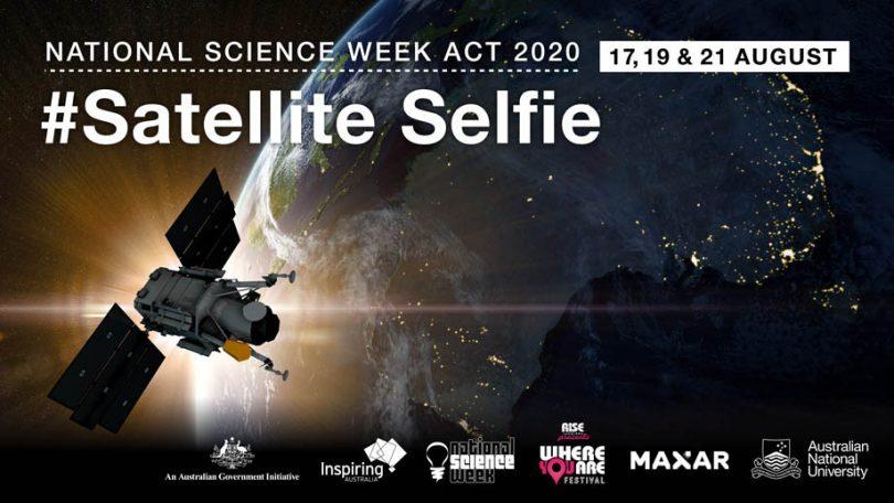 The Canberra Satellite Selfie